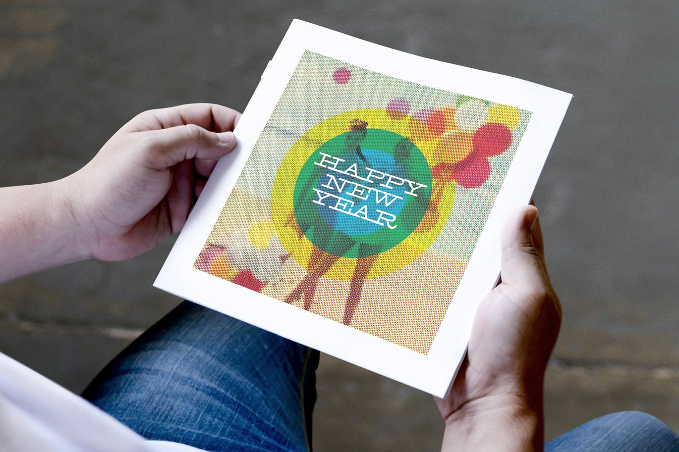 Holiday Season Booklet in Hand   Printing New York